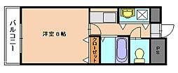 パークハイムジュノン[4階]の間取り