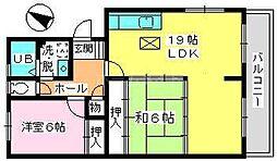 高義ビルII[1階]の間取り