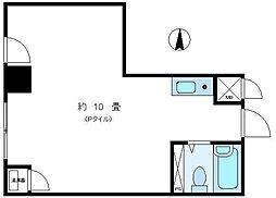 日興パレスビル渋谷[2階号室]の間取り
