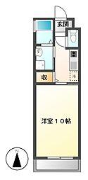 HIBINO RISE(ヒビノライズ)[11階]の間取り