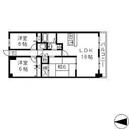 ブランチ913[207号室号室]の間取り