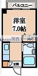 フュ—チャー21[2階]の間取り