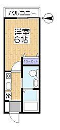 サザンコートLT[1階]の間取り