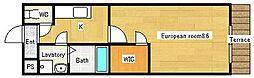 フジパレスフジマサ[1階]の間取り