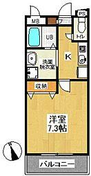 エストコート[2階]の間取り