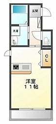 grande甲子園[3階]の間取り