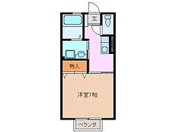 プリシェール平田 A棟[2階]の間取り