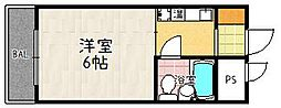 フォーラム藤崎[2階]の間取り