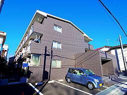 埼玉県ふじみ野市新駒林4丁目の賃貸マンションの外観