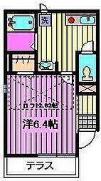 セレ日進[1階]の間取り