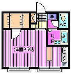 アソート南浦和[2階]の間取り