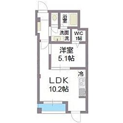 ラシーネONE PARK PLACE[403号室号室]の間取り