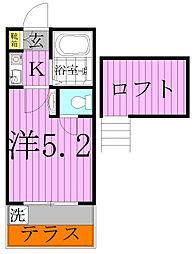 ケントハウス[1階]の間取り