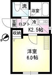 エスペランサ横浜鶴見[1階]の間取り