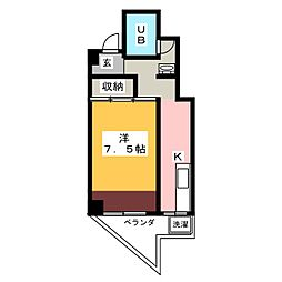 SS−23[5階]の間取り