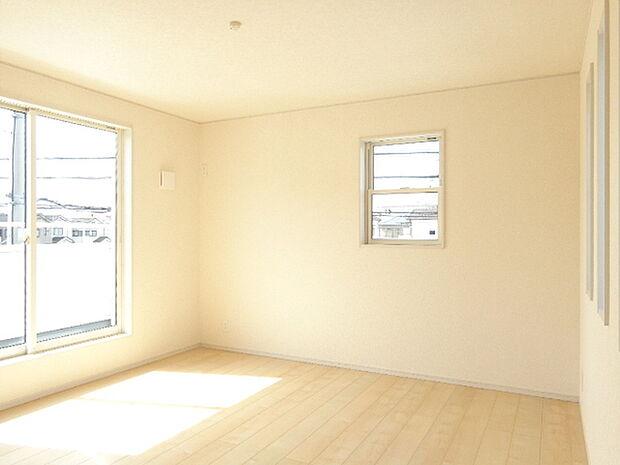 陽当たりの良い寝室