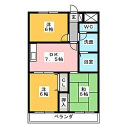 メゾン・ド・U[2階]の間取り