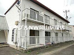 岡山県岡山市北区牟佐丁目なしの賃貸アパートの外観