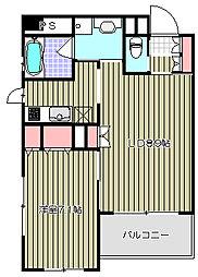 クリオ戸越銀座壱番館[12階]の間取り