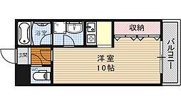 ヴァンヴェール35[107号室号室]の間取り