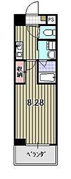 FIRST COURT 五条新町[5階]の間取り