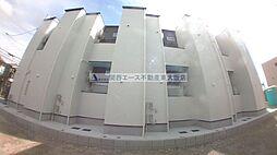 大阪府東大阪市玉串町東3丁目の賃貸アパートの外観