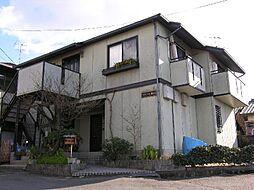 京都府京都市伏見区桃山町正宗の賃貸アパートの外観