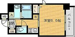 アクアプレイス梅田V[3階]の間取り