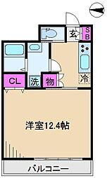 第6田嶋ビル[3階]の間取り
