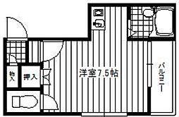 メゾンKT-1[2階]の間取り