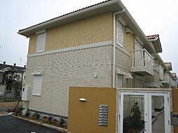 アムールA棟[1階]の外観