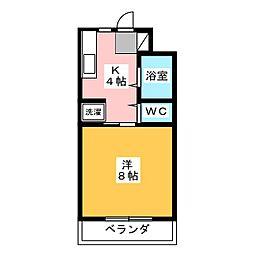 ヴィンテージ・M[2階]の間取り
