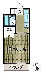MORIYAMANSION[3階]の間取り