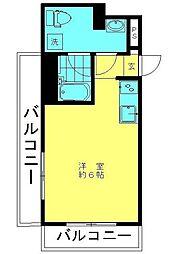 プレール九段[8階]の間取り