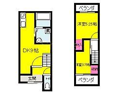 [一戸建] 大阪府堺市東区日置荘北町1丁 の賃貸【/】の間取り