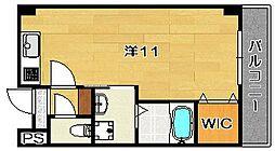 ファミーユ西館[3階]の間取り
