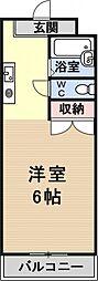 プリマベーラ瀬田[301号室号室]の間取り