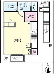 ラ フォレスタ[2階]の間取り