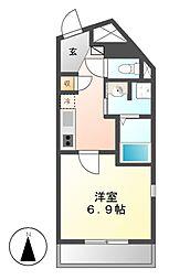 KマンションつるまいII[7階]の間取り
