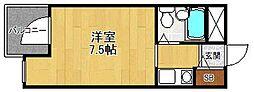 ジョイフル武庫之荘2[110号室]の間取り