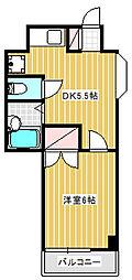 Mメゾン[2階]の間取り