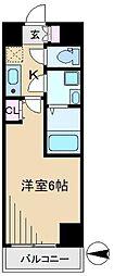 シエル白山B館[2階]の間取り