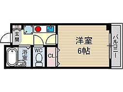 メゾンコラージュ[1階]の間取り