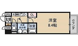 S-FORT新大阪ravir[5階]の間取り