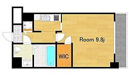 エスリード福島リバーフロント[8階]の間取り
