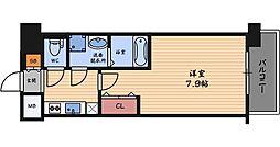 レジュールアッシュ福島フィーノ[5階]の間取り