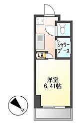 N.S.ZEAL東別院[3階]の間取り