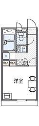 レオパレスポップ[204号室号室]の間取り