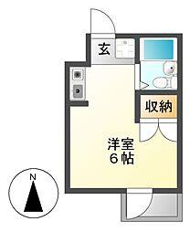 TIマンション[5階]の間取り