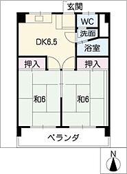第二五更ビル[1階]の間取り